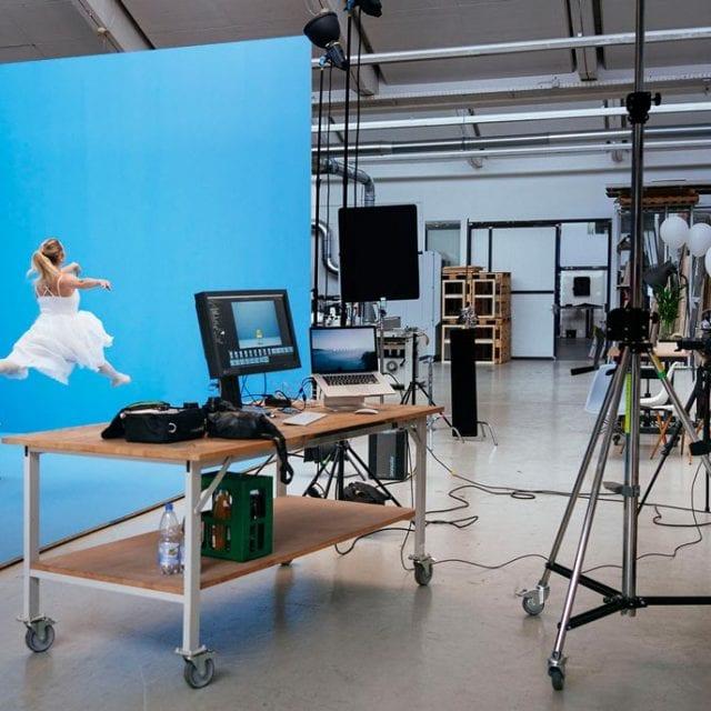 WECAUSE Making Of Fotoshooting Ballerina